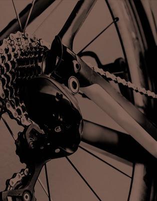cambio di una bici